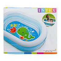 Детский надувной бассейн 57482 Intex (163х107х46), фото 1