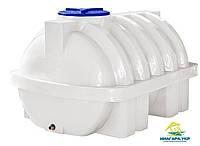 Пластиковый бак для перевозки Euro Plast горизонтальный 2000 литров ГО 2000 ПБ (усиленный)