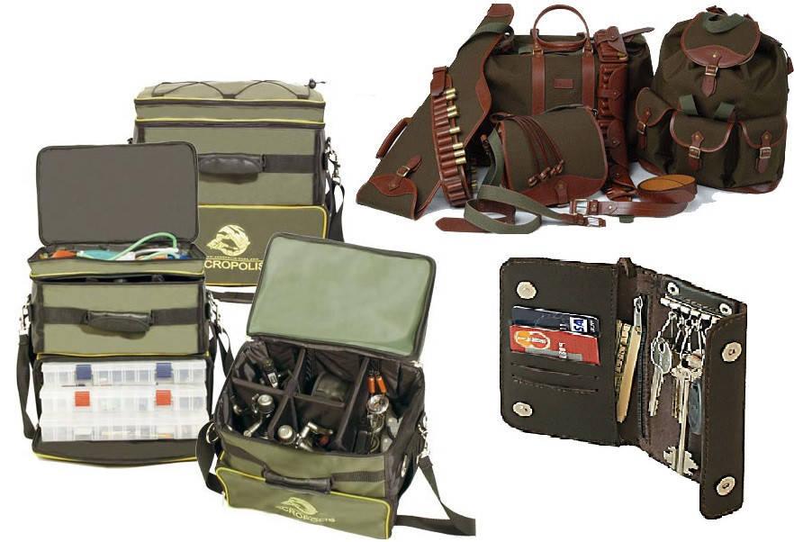 Тубусы, чехлы и сумки Acropolis: обзор товаров для рыбалки