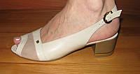 Женские босоножки на школьном каблуке модель Л2Ж16.