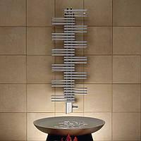 Дизайнерский полотенцесушитель Zehnder Yucca Chrome