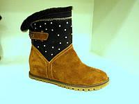 Женские ботинки как угги, фото 1