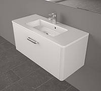 Мебель для ванной Fancy Marble Bali 90 см с раковиной Annabele белый