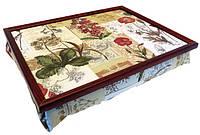 Подносы с подушками, прикроватные столики