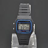Мужские часы F-91W, фото 5