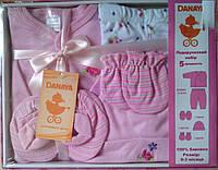 """Набор одежды для новорожденной """"Цветочек"""" - 5 предметов"""