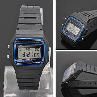 Часы унисекс  F-91W (копия Casio)