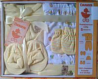 """Набор одежды для новорожденных """"Мишка"""" - 5 предметов"""