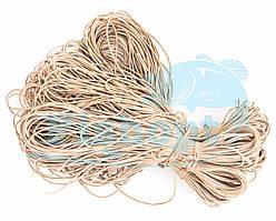 Рыбацкая круглая резина 2.0мм 20м (10шт\уп)