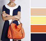 Сочетание цветов в одежде: 6 основных правил