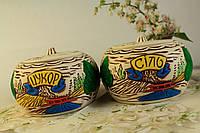 Керамический набор для соли и сахара