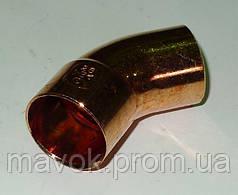 Отвод 8х45* однораструбный (арт. 5040) IBP (Великобритания)