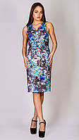 Платье женское Jimmy Key JK 1204113 LEKSU DS INDIGO BLUE L
