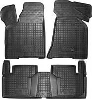 Полиуретановые коврики для Lada 110, 111, 112 (ВАЗ 2110, 2111, 2112) 1995- (AVTO-GUMM)