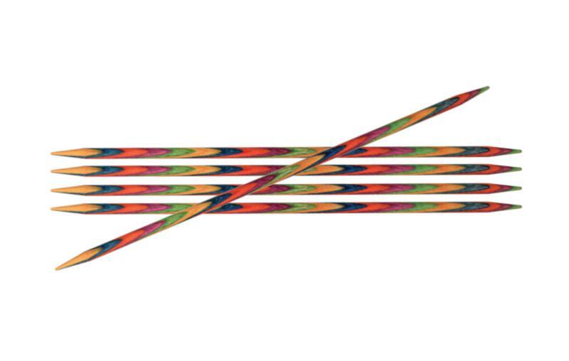 Спицы носочные 10 см Symfonie Wood KnitPro 2.50 мм