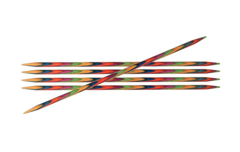Спицы носочные 15 см Symfonie Wood KnitPro 3.75 мм