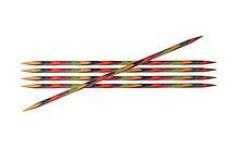 Спицы носочные 10 см Symfonie Wood KnitPro 2.00 мм