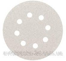Круг шлифовальный Smirdex Ø125 мм на липучке (8 отверстий) зернистость  Р150.