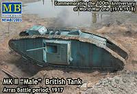 "Британский танк Mk II ""Male"" 1/72"