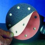 Круг шлифовальный Smirdex Ø125 мм на липучке (8 отверстий) зернистость  Р400., фото 3