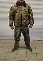 Зимний военный комплект бушлат+штаны