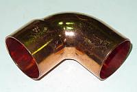 Отвод 8х90* однораструбный короткий (арт. 5092) IBP (Великобритания)