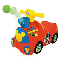 Чудомобиль серии Веселые шарики Паровоз Микки (свет, звук) Kiddieland