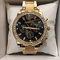 ЖЕНСКИЕ ЧАСЫ MICHAEL KORS BLACK GOLD N66,женские наручные часы, мужские, наручные часы Майкл Корс, фото 1