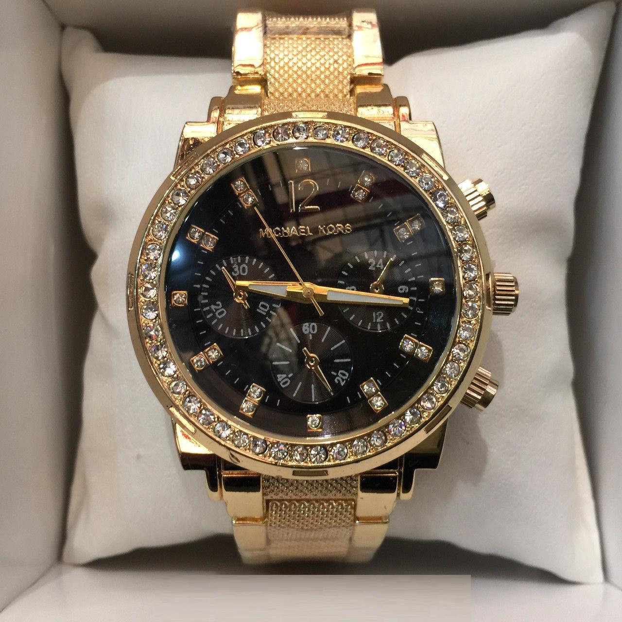 34f9e0e5b8c6 ЖЕНСКИЕ ЧАСЫ MICHAEL KORS BLACK GOLD N66,женские наручные часы, мужские, наручные  часы