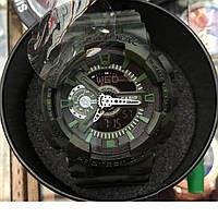 Часы наручные G-SHOCK GA-100F, спортивные часы, механические, женские часы, мужские, наручные часы Касио, квар