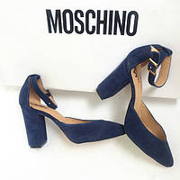 Стильные женские туфли TroisRois из натурального турецкого замша