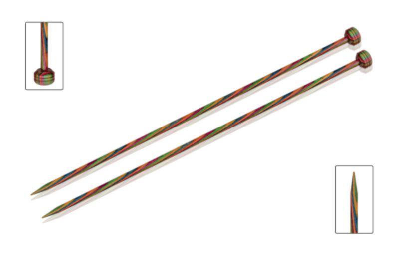 Спицы прямые 40 см Symfonie Wood KnitPro  5,00 мм