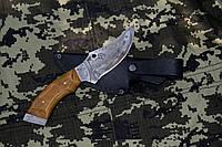 Нож ручной работы Носорог с кожаным чехлом + эксклюзивные фото, тактический нож, рыбацкий нож , фото 1