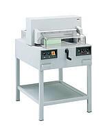 IDEAL 4850-95 ЕР , электрическая гильотина, длина реза 475 мм, толщина стопы 80 мм, прижим электрический.