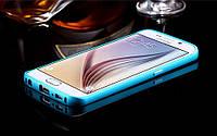 Бампер+прозрачная задняя крышка для смартфона Samsung Galaxy S6 Edge SM-G9250