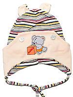 Детская шапочка (Бежевый)
