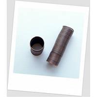 Проволока с памятью для колец, цвет медный, 0,6 мм, 20-22 мм диаметр