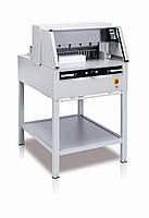 Электрическая гильотина IDEAL 5260, длина реза 520 мм, толщина стопы 80 мм, прижим электрический.