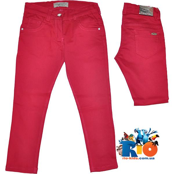 """Летние коттоновые брюки """"Eleysa"""", для девочки от 1-4 лет"""