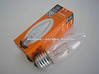 Лампа накаливания свечка General Electric 60C1/CL/E27 прозрачная 60 Вт(Венгрия), фото 1