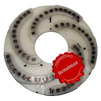 Алмазный шлифовальный инструмент по камню Ф320 мм. №1 из пластмассы на прижимные станки по камню габбро., фото 1