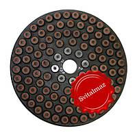 Шлифовальный втулочный алмазный круг Ф250 мм. №2 PELE для шлифовки камня с водой., фото 1