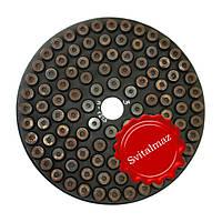Шлифовальный втулочный алмазный круг Ф250 мм. №3 PELE для шлифовки камня с водой., фото 1