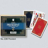 Комплект игральных карт President 2*55 листов