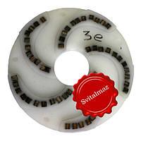 Алмазный пластмассовый однорядный шлифовальный инструмент по камню Ф250 мм. №3е на прижимные станки по камню., фото 1