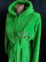 Продаю женские махровые халаты оптом недорого, фото 1