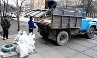 Погрузка и вывоз строительного мусора