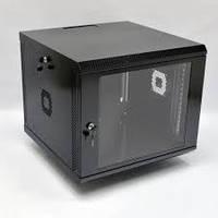 Шкаф 9U. 600х600х507 мм (Ш*Г*В). акриловое стекло. черный