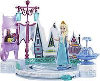 Кукла принцесса Эльза Дисней игровой набор  каток Эльзы  из м/ф Холодное сердце