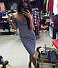Костюм в клетку блуза+юбка-карандаш, фото 2